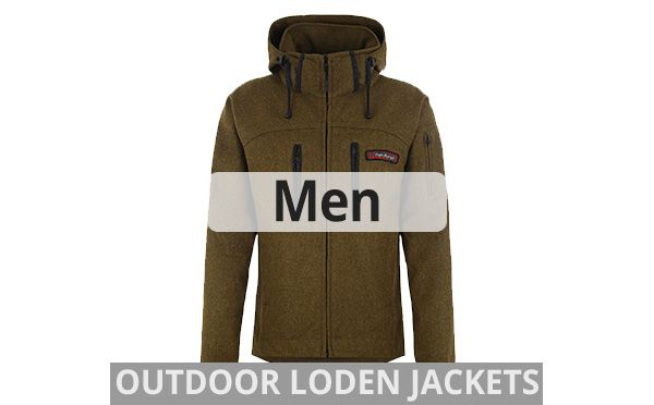 hedlund mens wool Loden outdoor jackets