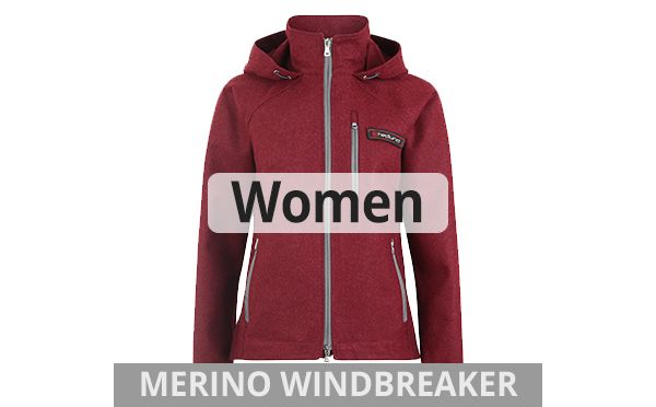 hedlund womens merino windbreaker