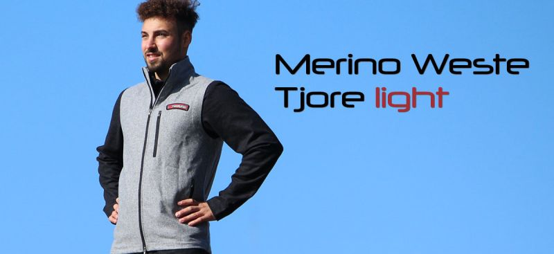 Herren Merino Loden Weste