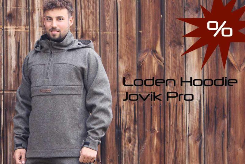Loden Hoodie Jovik Pro