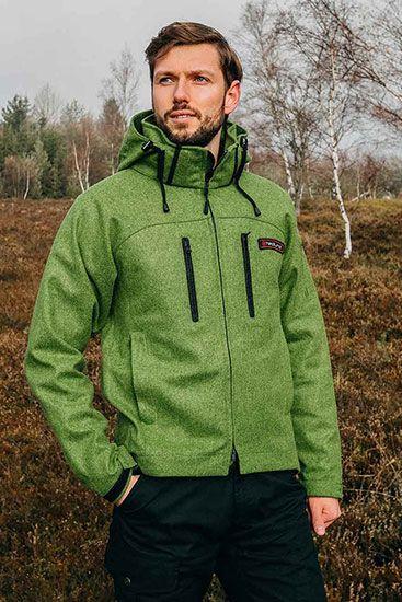 hedlund Lodenjacke Grenland mid green