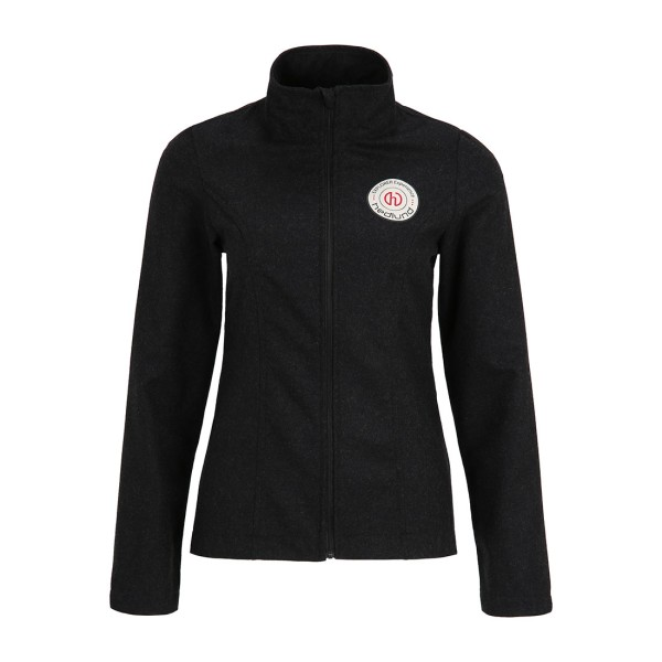 Damen Merino Full Zip Baselayer Liv ultralight - dark