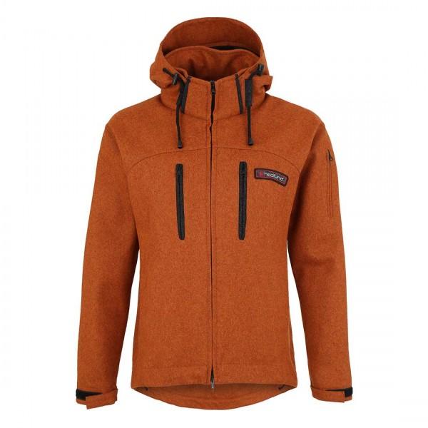 Grenland mid rust - Lodenjacke aus Wolle