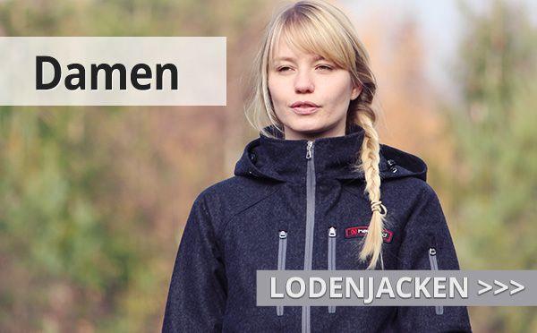 Damen Wolljacken aus Loden