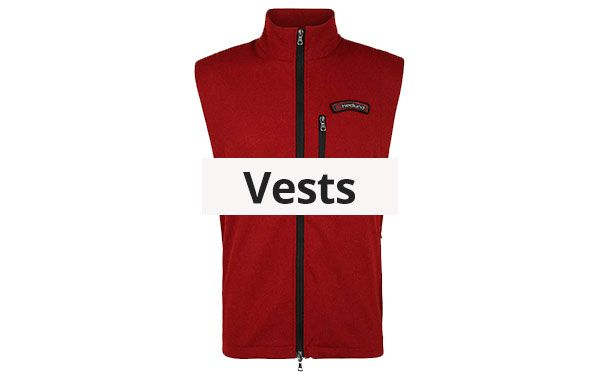 Mens Wool Vests made of Loden and Merino Loden