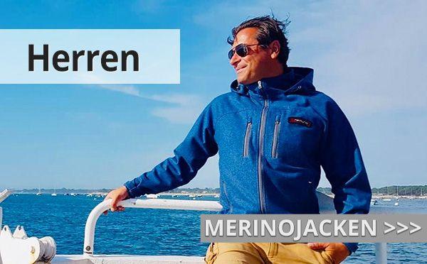 Herren Merinojacken aus Loden