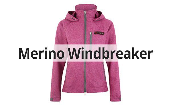 Damen Merino Windbreaker