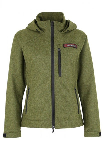 hedlund Gilja light green Damen Merino Windbreaker