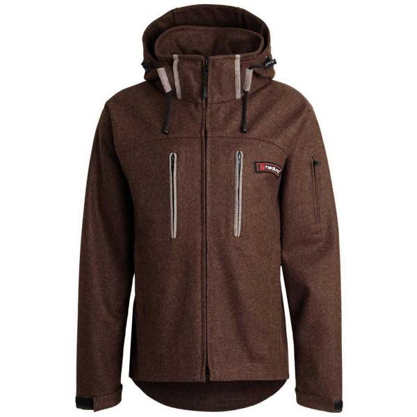 hedlund Lodenjacke Grenland mid brown - nachhaltige Bekleidung aus Loden / Schurwolle . Lodenjacken und Lodenwesten