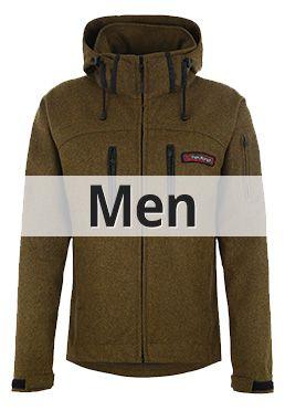 Mens natural Outdoor Clothing