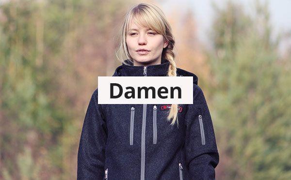 Damen Outdoorbekleidung aus Loden