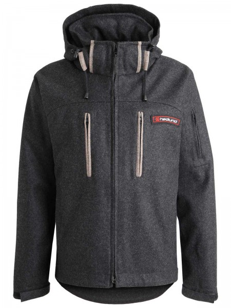 hedlund Grenland mid Lodenjacke - Outdoorjacke - Funktionsjacke aus Naturmaterial - hedlund all natural clothing