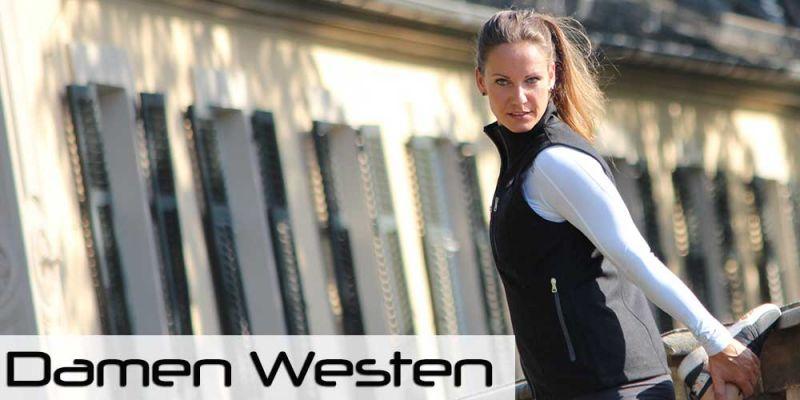 Damen Westen aus Loden - Schurwolle und Merinowolle