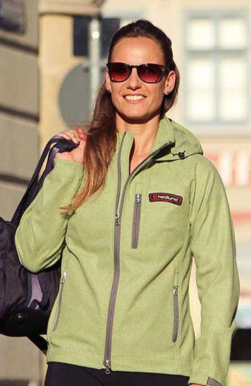 hedlund Damen Merino Sommerjacke Gilja light soft green