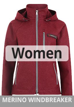 Womens Merino Windbreaker