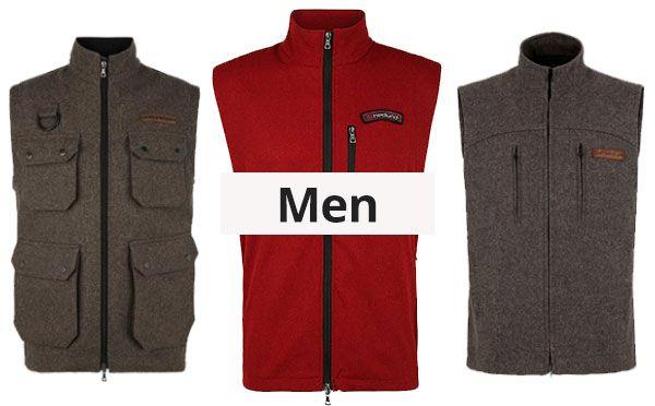 Mens wool vests