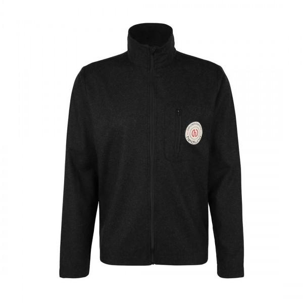 Ultraleichter merino baselayer zum darunter anziehen - Herren Sport-Shirt aus Merinowolle - Full-Zip Merino Layer