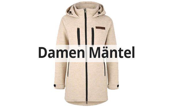 Damen Loden Mantel