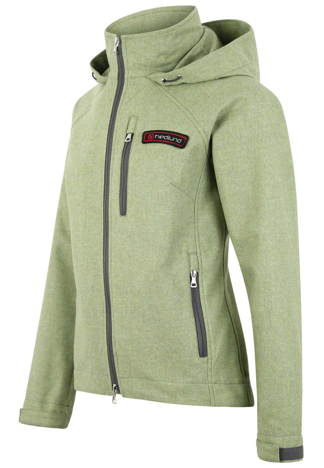 hedlund Damen Windbreaker gilja light soft green Merinowolle